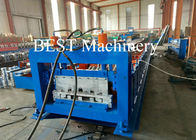 China Metal Steel 2mm Thickness Car Board Panel Roll Forming Machine 30kw Power factory