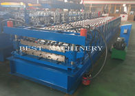 YX-686 762 Double Layer Deck Profile Roof Roll Forming Machine 8-12m/Min Speed