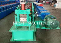 Gear Box Driven Customized Panel Roll Forming Machine 18.5kw Power Formed