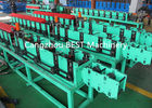 Fenestrated Shutter Door Frame Roll Forming Machine 5.5kw Power PLC Control System
