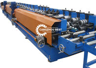 C Style Perforated Cable Tray Roll Forming Machine Automatic Production Line