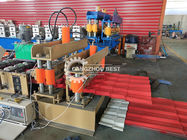 Professional Double Layer Roof Tile Roll Forming Machine , Roll Forming Equipment