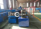 5mm U Post Channel Guardrail Forming Machine Hydraulic Cutting Gear Box Drive