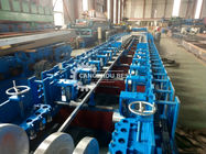 Steel Cable Tray Roll Forming Machine , Roll Forming Equipment High Speed
