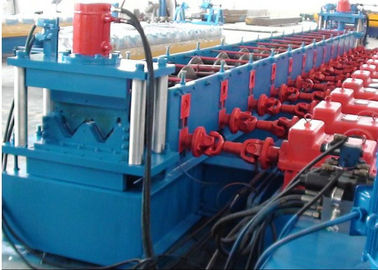 China Highway Guardrail Roll Forming Machine High Yield Strength Galvanized W Beam distributor