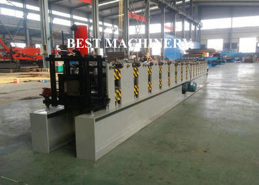 China Rain Gutter Roll Forming Machine Construction Material Roofing 450mm - 550mm Inner Diameter distributor