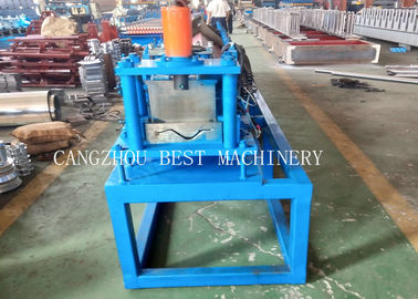 China 1 Year Warranty Shallow Rain Gutter Roll Forming Machine PPGI/ GI Material distributor