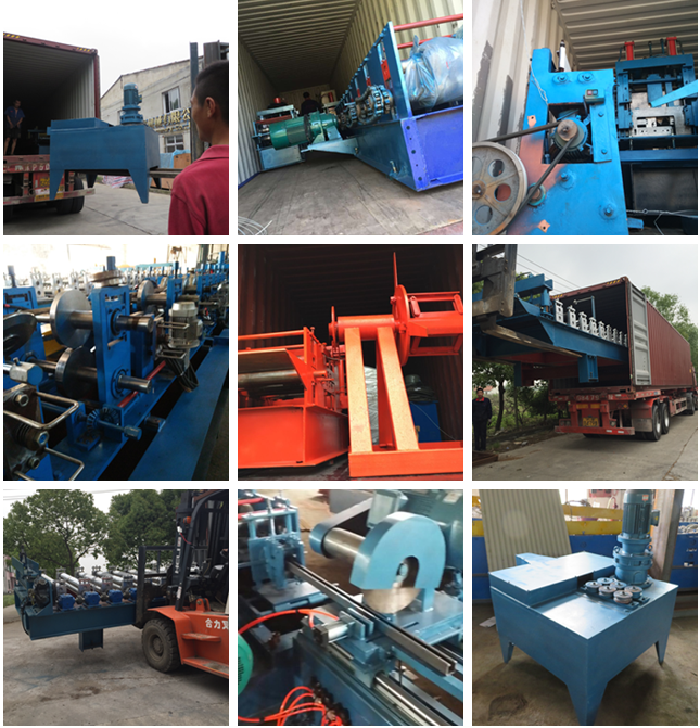 Cladding Profile IBR Metal Roofing Panel Sheet Roll Forming Machine PLC Control