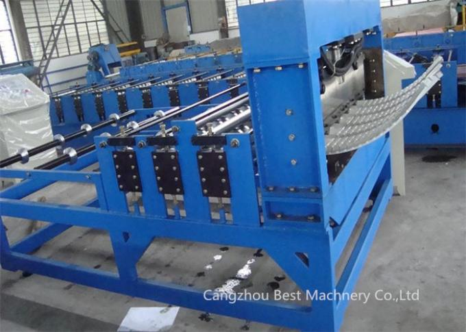 ISO/CE  Corrugated Roofing IBR Wall Sheet Bending Crinping Curve Machine