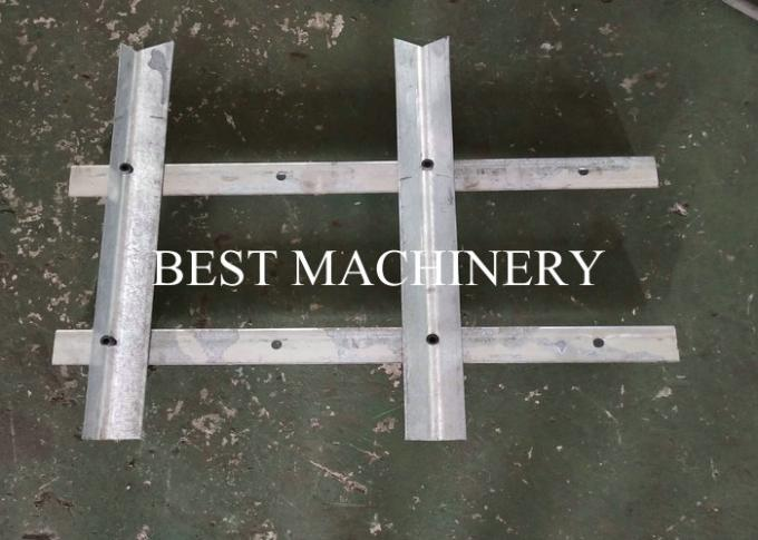 Popular Palisde Fence Machine Roll Forming Machine Steel Gavlanized