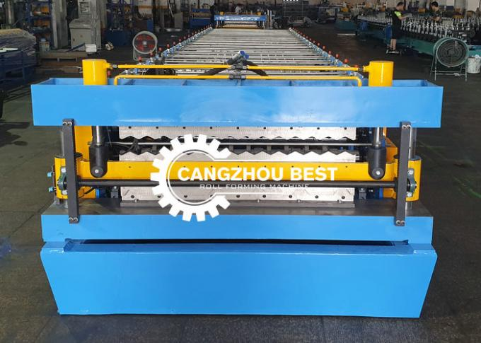Zinc Roofing Sheet Panel Roll Forming Making Machine
