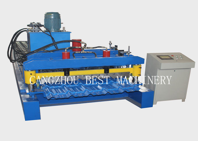 Color Steel Versatile Roll Forming Machine PPGI Material With Hydraulic Cutting Type