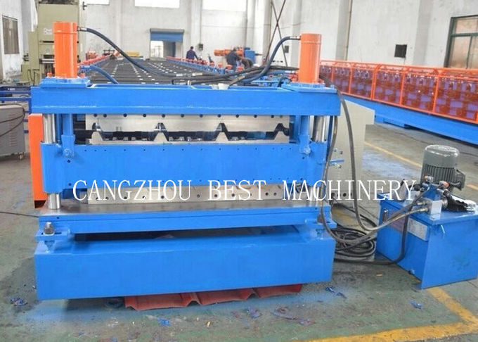 Double Layer 840/850 Roofing Sheet Roll Forming Machine 6 Kw Power