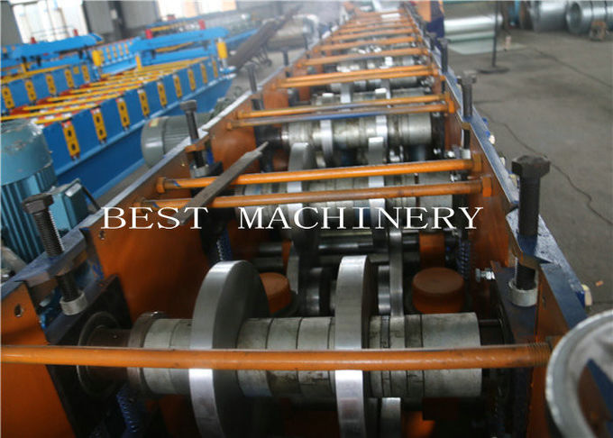 Manual Adjustable 3mm Thickness C Purlin Roll Forming Making Machine