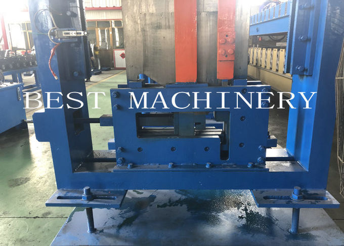 Z Steel Purlin Roll Forming Machine Automatic Change Size 18.5kw Power